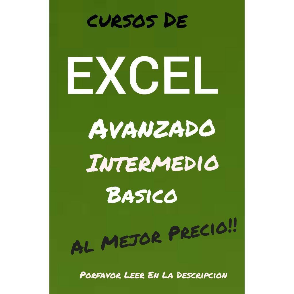 Clases Sistemas Hora:17.000 Excel Avnzdo