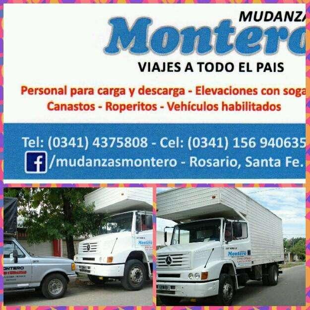 Transporte mudanzas fletes en Rosario