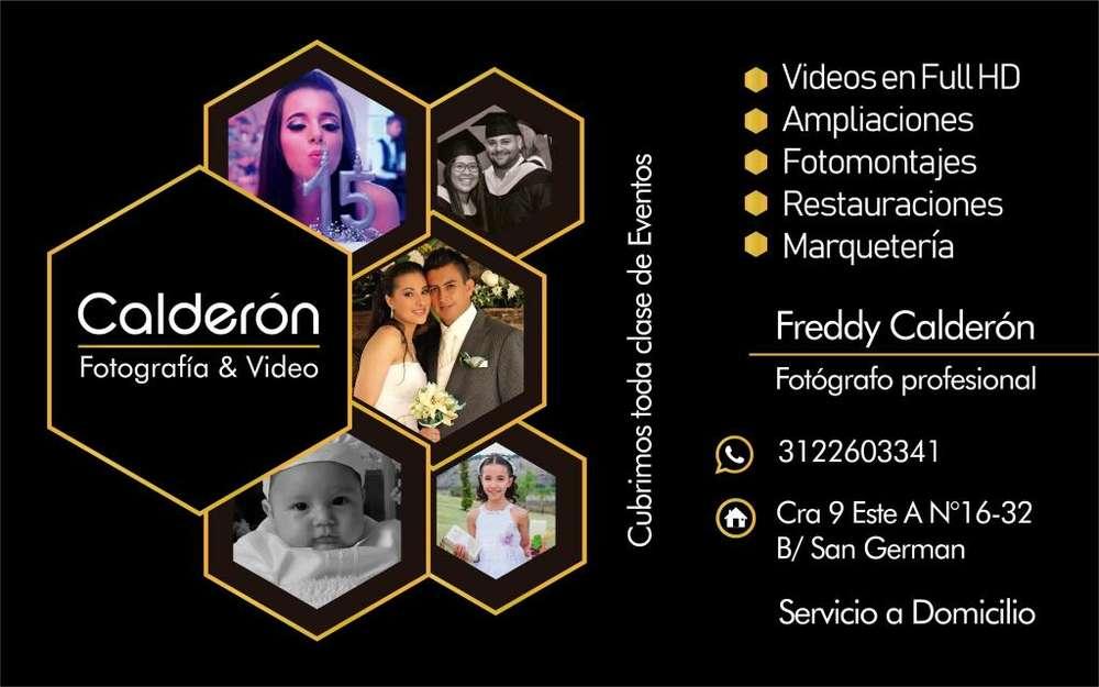 Fotografía Y filmación Profesional para eventos