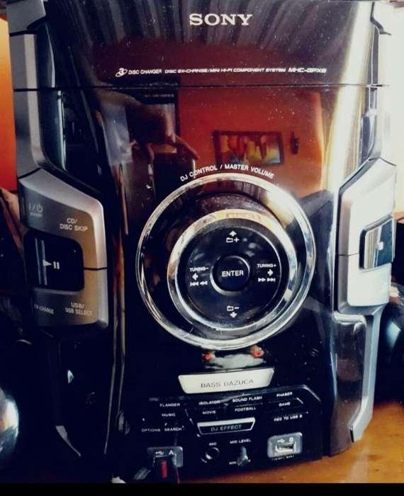 Equipo de Sonido Ss-gpx8p Sony con 4 Baf