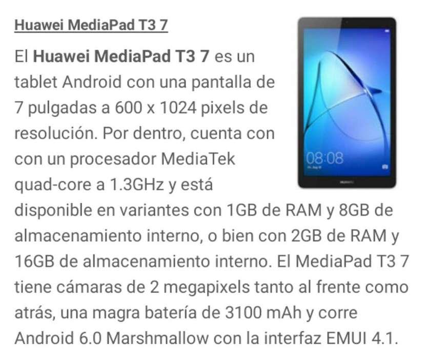 Vendo Tablet Huawei T3.7