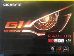 Tarjeta De Video Gigabyte Rx 470 4gb G1 Gaming