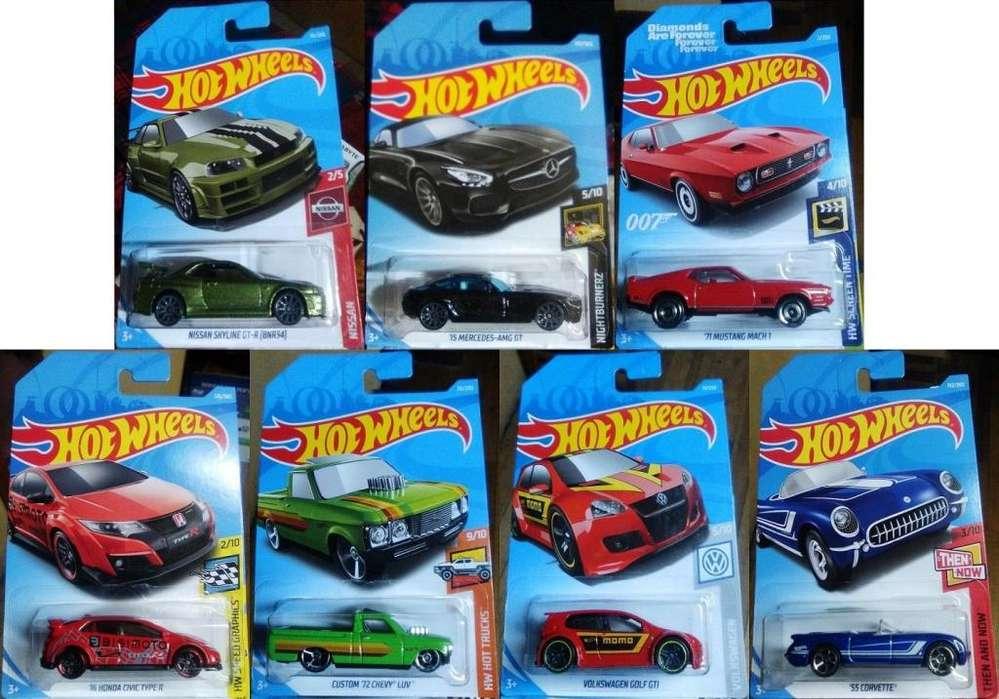 Lote de Autos Hot Wheels 7x20 Dólares