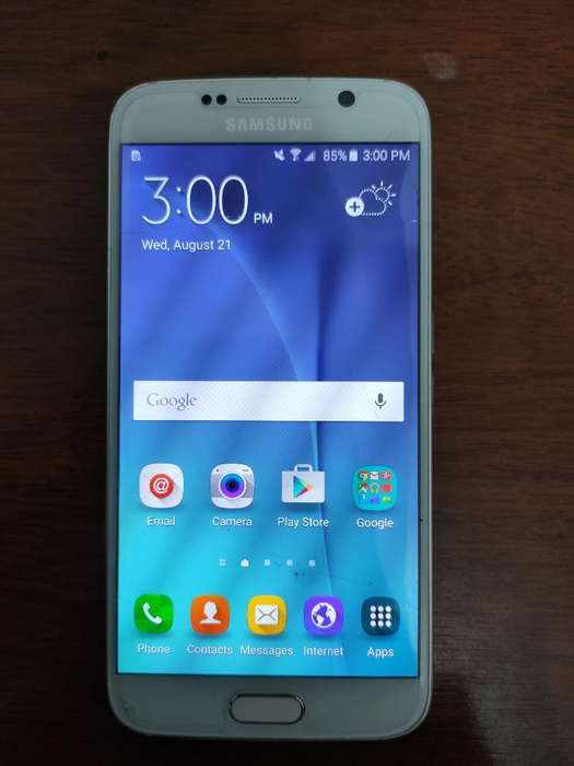 Samsung S6 32gb Blanco