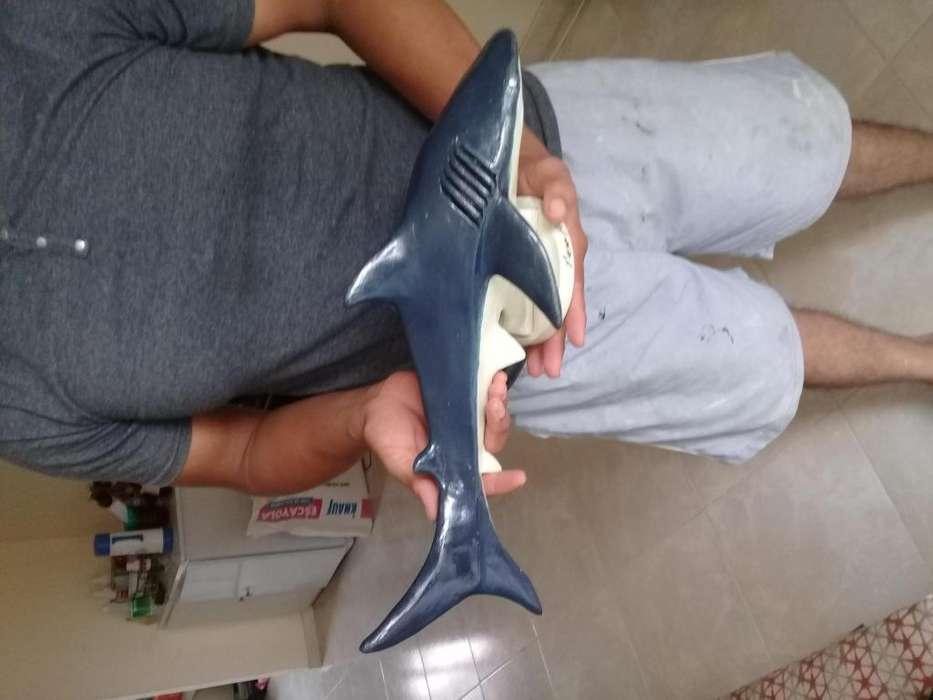 escultura de tiburon 3014182032