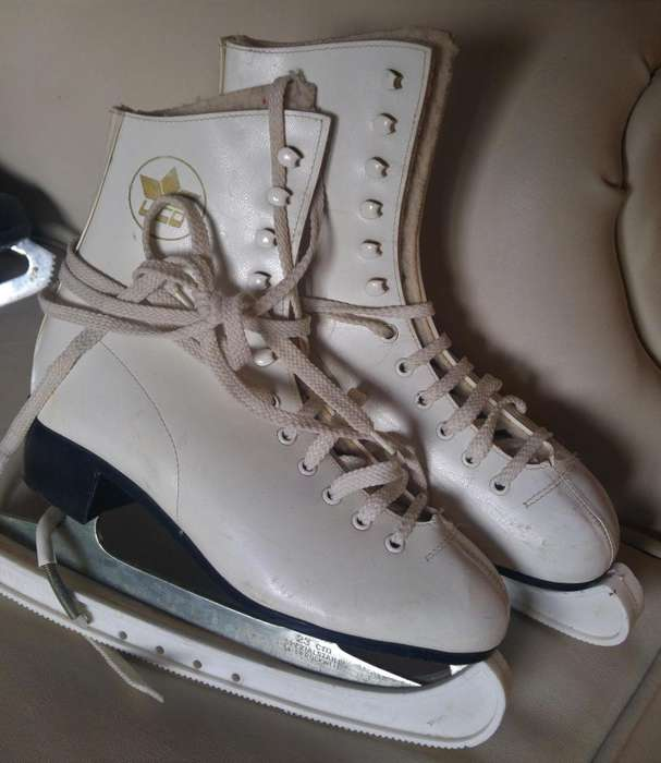 patines hielo, casco, botas