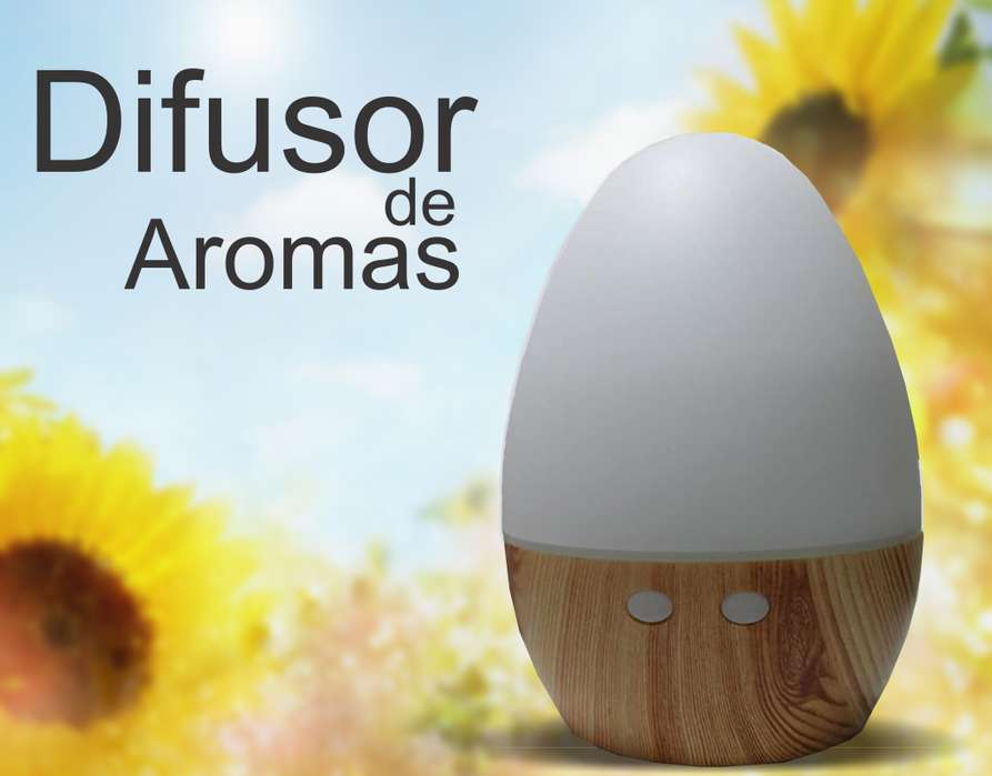 Difusor Humidificador Aromaterapia 160ml