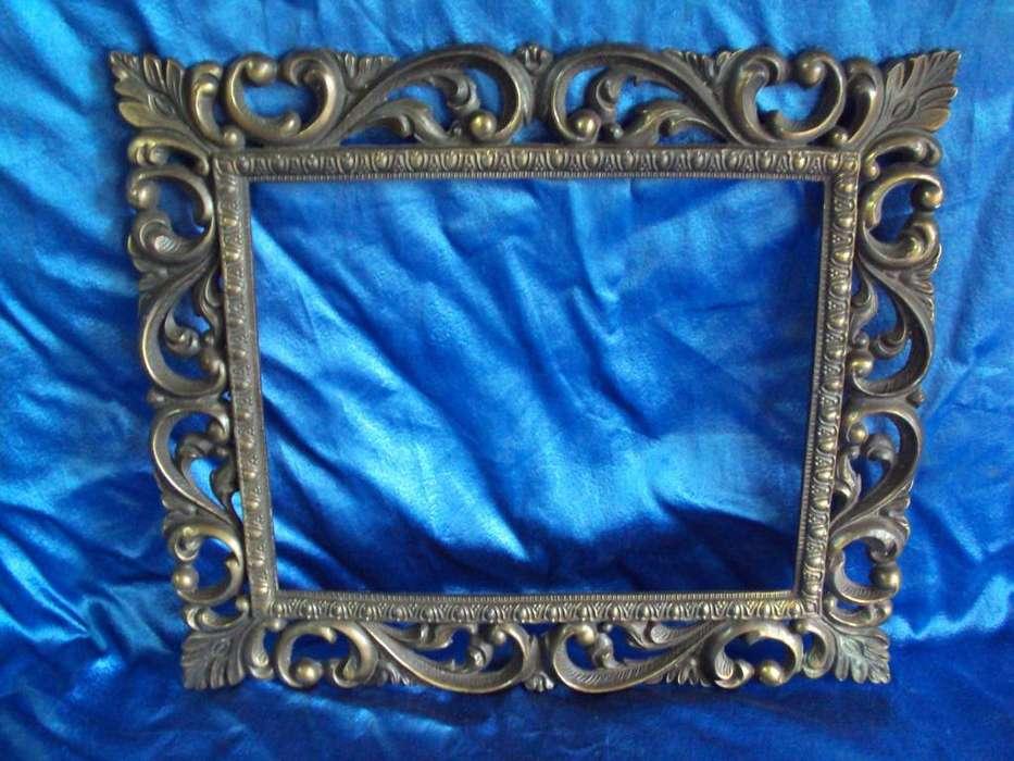 marco de cuadro metalico vintage