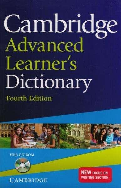 Diccionario Cambridge Advanced Learner's 4th Edición