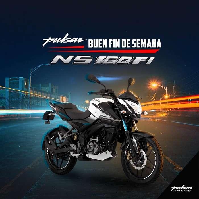 MOTOCICLETA PULSAR NS160 FI