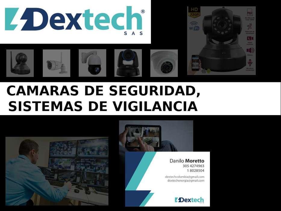 Camaras de Seguridad, Sistema de monitoreo, Camaras IP, CCTV, Asesorias, Instalacion
