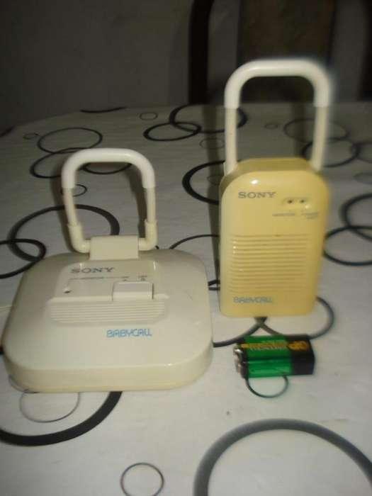 Baby Call Sony Amplio Alcance Completo Y Listo Para Usar!!