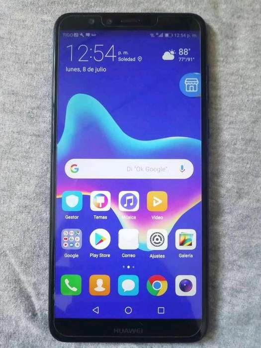 Vendo Huawei Y9 2018 Imei Original Lindo