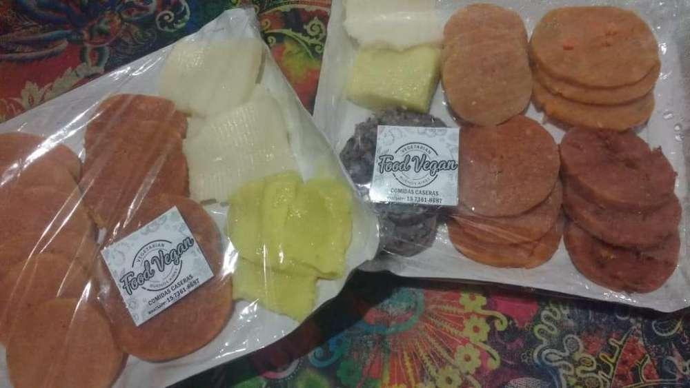 Fiambres Veganos (jamón Y Queso Para Sandwiches)