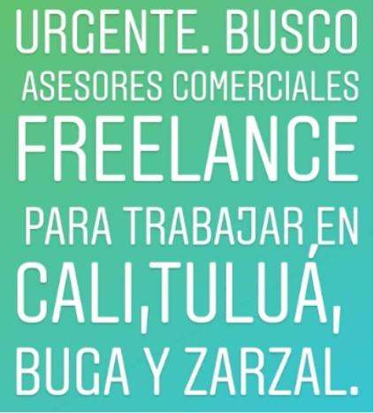 BUSCO ASESORES COMERCIALES <strong>freelance</strong>