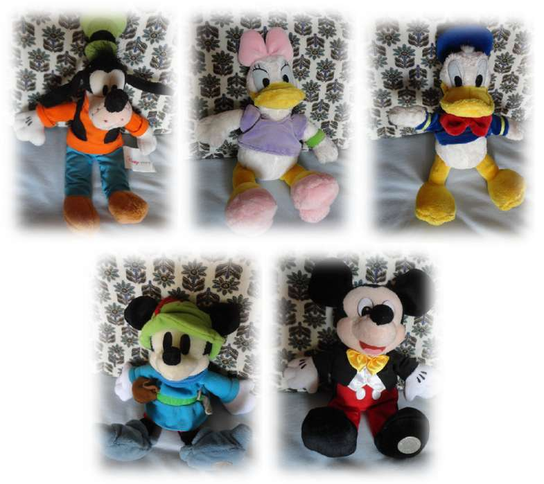 Personajes Disney originales chicos