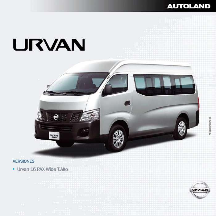 Nissan Urvan 2020 - 0 km