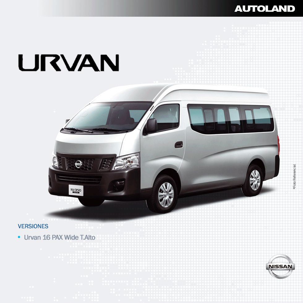 Nissan Urvan 2020 - 0 km I AUTOLAND
