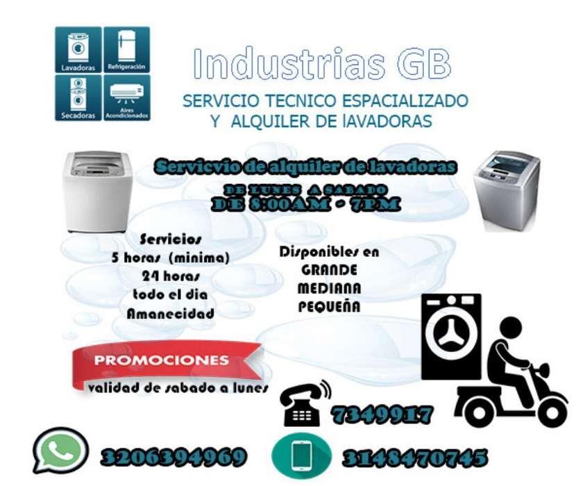 Alquiler de Lavadoras Y Servicio Técnico