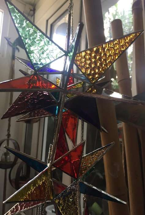 Estrella Vitreaux Realizada en Tiffany