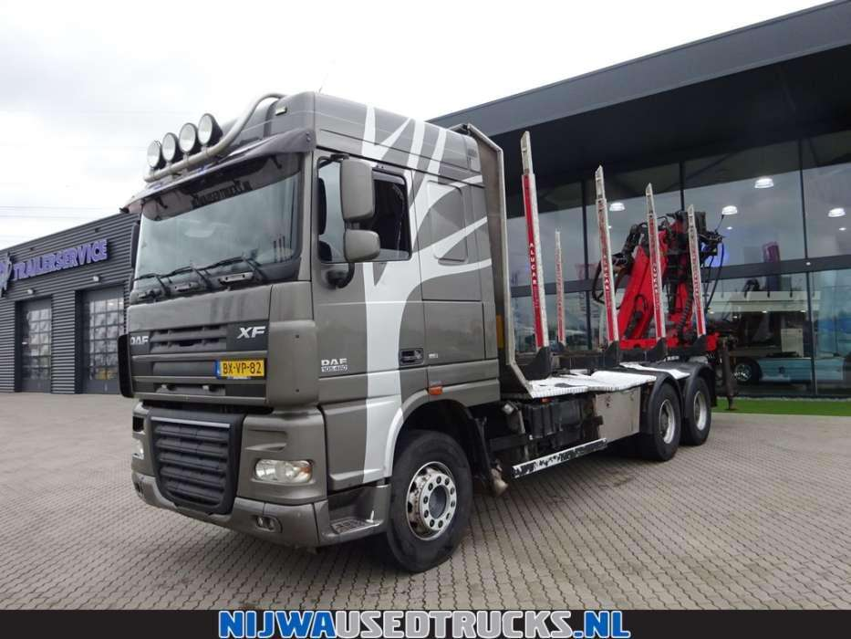 DAF XF 105 460 Palfinger Kraan Vangmuil - To be Imported