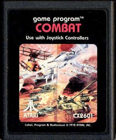 Juego Original Atari 2600 Combat Cx2601 100 Funcionando