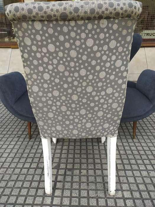 4 Bellas <strong>sillas</strong> Restauradas 2500 pesos cada una