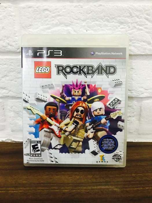 Vendo Rock Band Lego para PS3