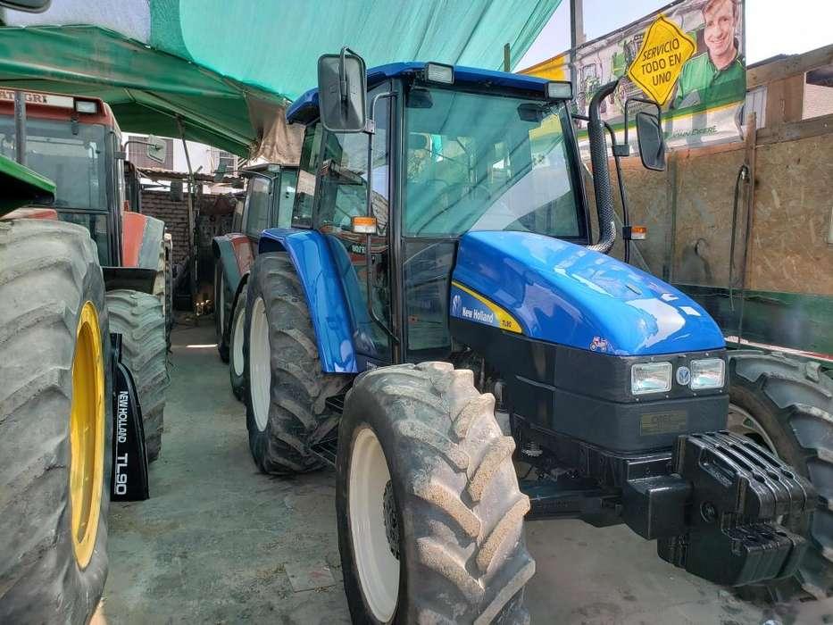 Tractores Agrícolas Importados New Holland 85- 90 -100 hp