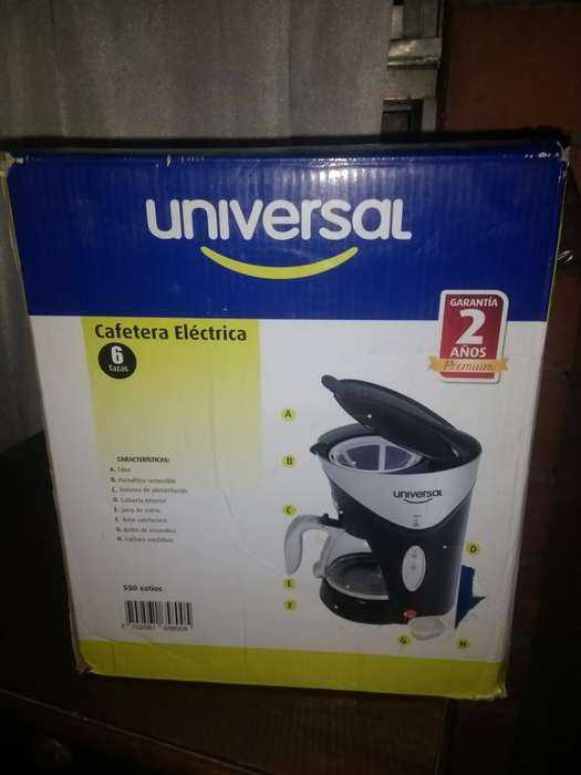 Cafetera Eléctrica Universal