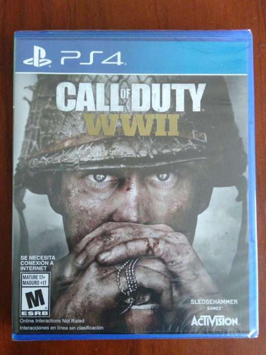 Call Of Duty WW2 Juego Ps4 Nuevo Y Sellado En Español.
