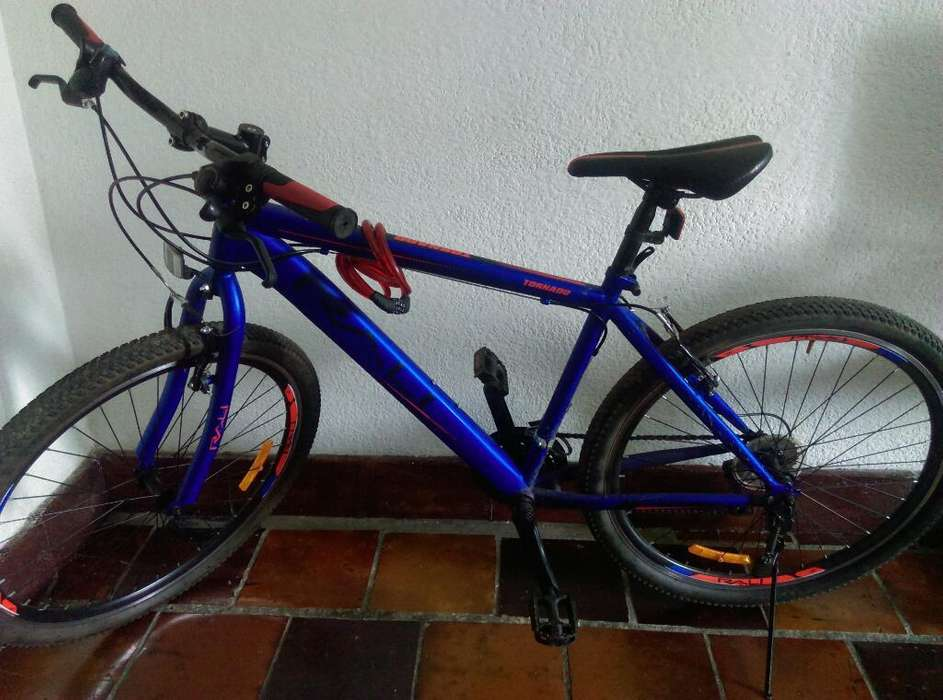 Bicicleta Rali Tornado Azul Mate