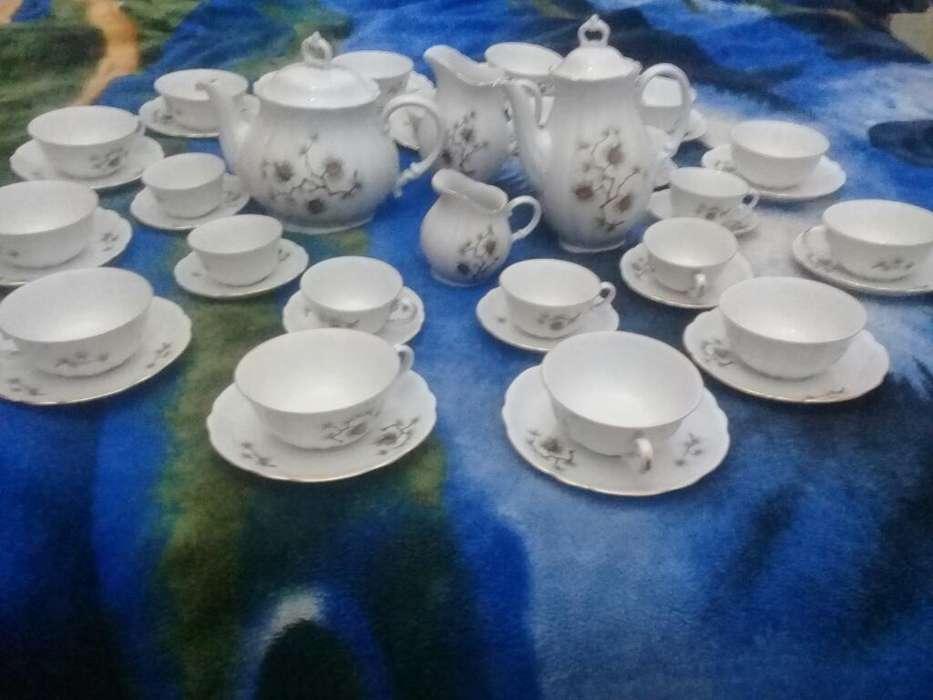 Juego de Te Porcelana Verbano 49 Piezas