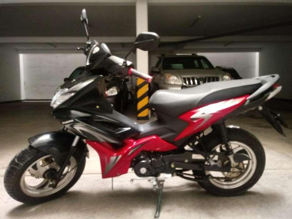 Moto Zhero Modelo 125 Sparta Semi <strong>nueva</strong>