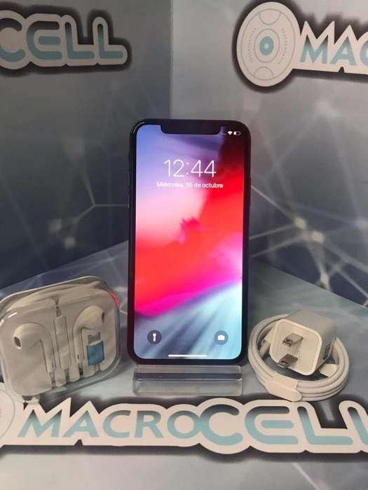 Vencambio iPhone X 256gb, Color Negro