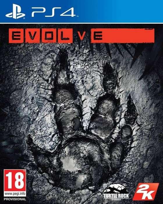 Evolve-Nuevo PS4