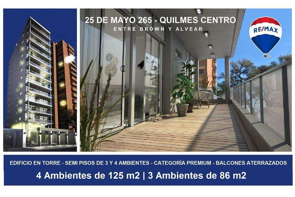 DEPTO 4 AMBIENTES COCHERA - QUILMES - FINANCIADO