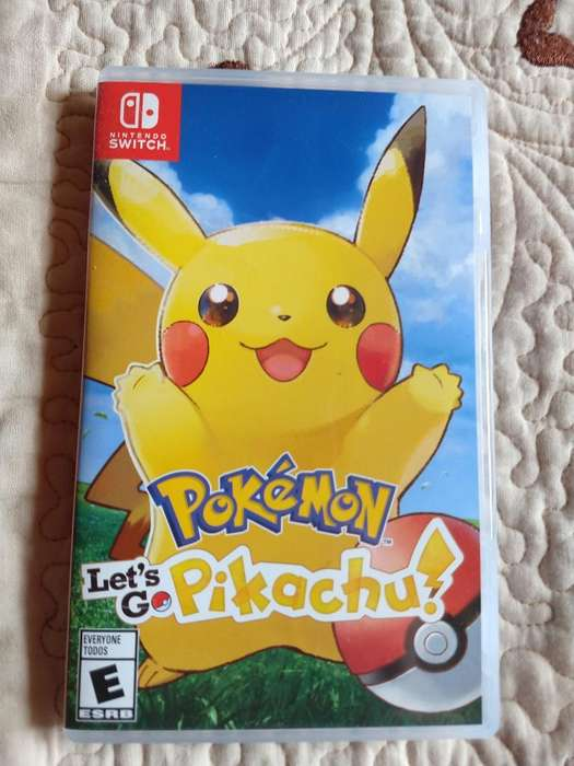 Vendo O Cambio Pokemon Let's Go Pikachu