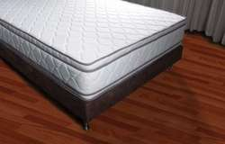 NUEVO Base cama y Colchón doble pillow gratis envió