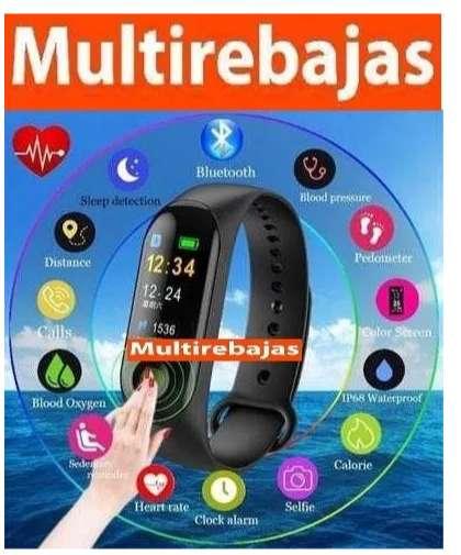 Reloj Tipo Pulsera Deportiva Smart Band M3