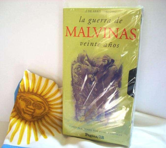Documental Malvinas 20 años VHS de Colección Impecable