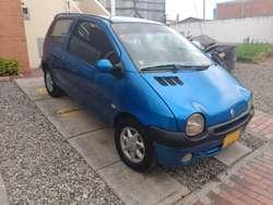 Renault Twingo Blue 2007 Full equipo