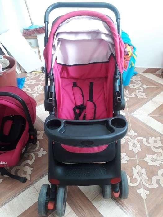 Coche Y Silla de Carro para Niña