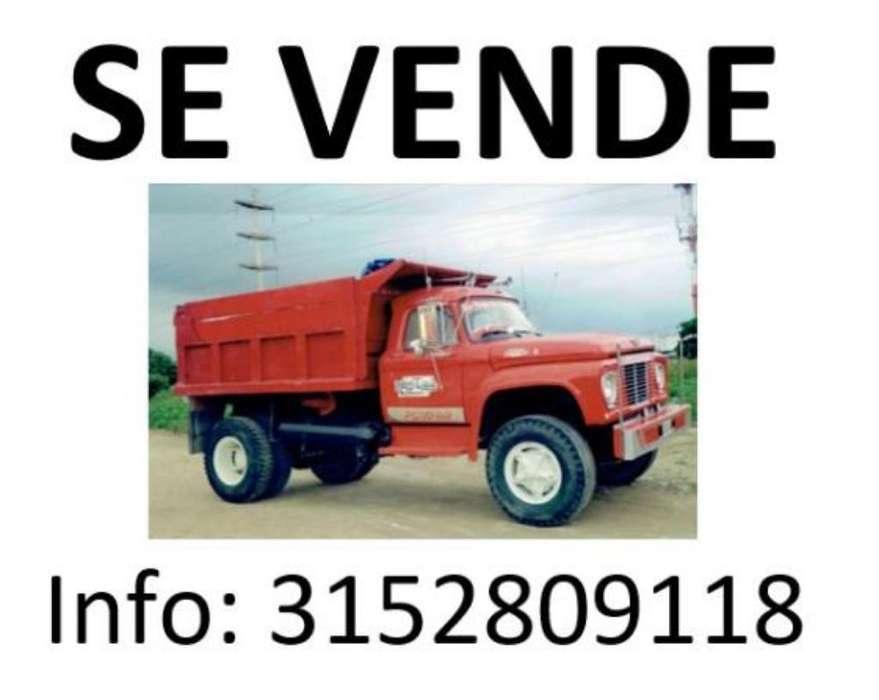 Vendo Volqueta Ford 63