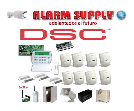 Kit De Dsc Alarma De 8 Sensores 3 Magneticos alarm supply