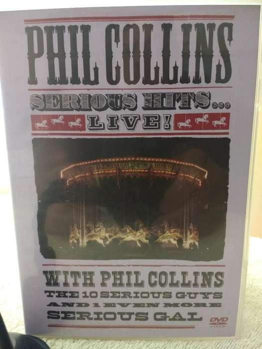 Phil Collins Dos Dvds