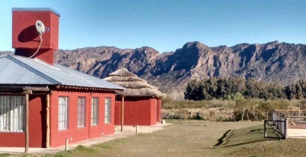 kt40 - Cabaña para 2 a 6 personas con pileta y cochera en Valle Grande o Cañon del Atuel
