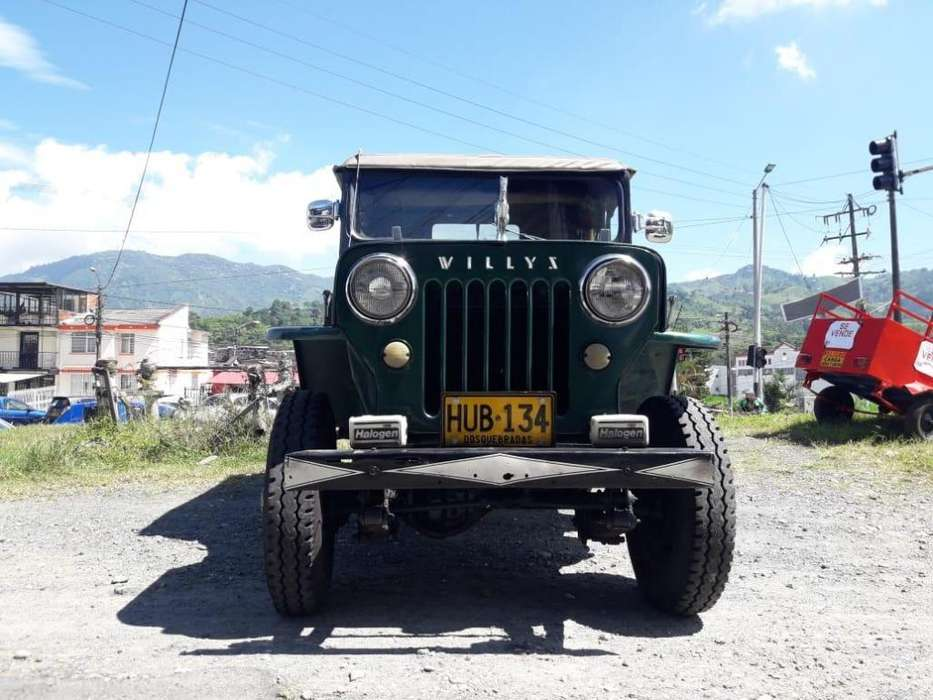 <strong>jeep</strong> Willys 1957 - 12000 km