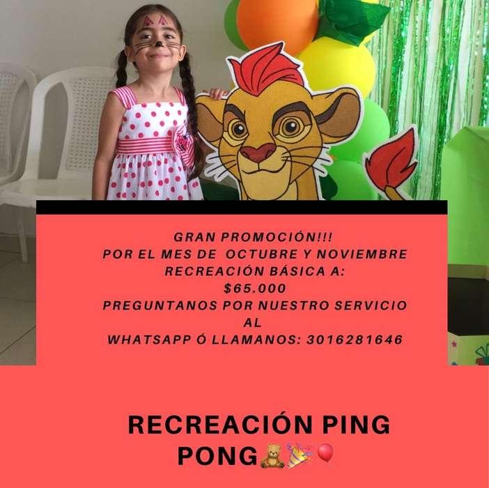 Recreacion Ping Pong (Cali-Palmira)