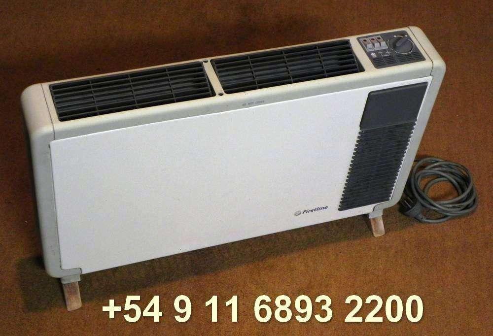 Calefactor Caloventor Eléctrico Estufa Portátil Firstline 2400w